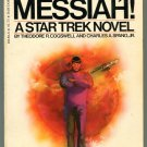 Star Trek SPOCK MESSIAH Theodore Cogswell Charles Spano First Printing