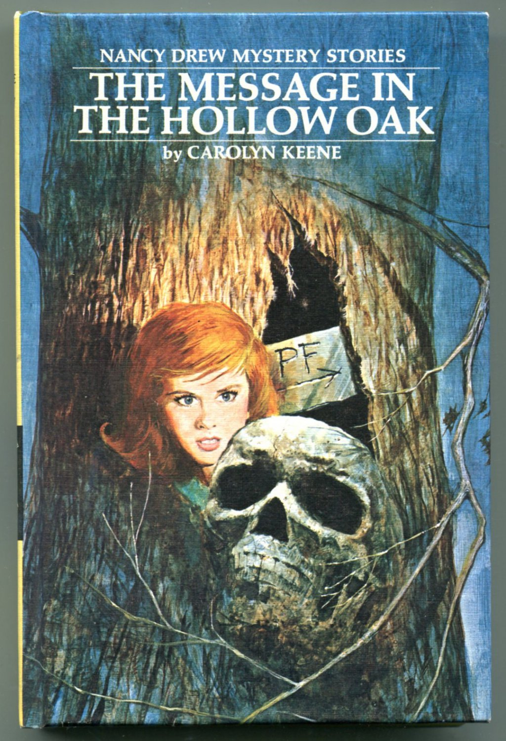 Nancy Drew 12 THE MESSAGE IN THE HOLLOW OAK Carolyn Keene  HC PC Unread