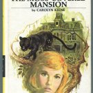 Nancy Drew 18 MYSTERY OF THE MOSS COVERED MANSION Carolyn Keene HC PC