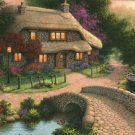 BRIDGE COTTAGE Papercity Puzzles Cottages 1000 pc Jigsaw Puzzle