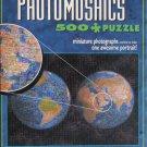 Buffalo Games PHOTOMOSAICS PLANET EARTH 500 pc Jigsaw Puzzle Robert Silvers