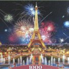 Castorland GLAMOR OF THE NIGHT PARIS 1000 pc Jigsaw Puzzle Eiffel Tower Fireworks