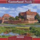 Castorland MALBORK CASTLE POLAND 3000 pc Jigsaw Puzzle Landscape
