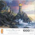 Thomas Kinkade ROCK OF SALVATION 1000 pc Used Jigsaw Puzzle
