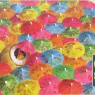 Cobble Hill The Lime In The Coconut 1000 pc Jigsaw Puzzle Umbrellas Collage Jo Ann Richards