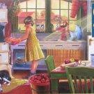Cobble Hill APPLE PIE KITCHEN 500 pc Jigsaw Puzzle Americana Nostalgia New