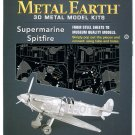 Metal Earth SUPERMARINE SPITFIRE WWII British Fighter Airplane 3D Puzzle Micro Model