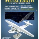 Metal Earth PAN AMERICAN CHINA CLIPPER Airplane 3D Puzzle Micro Model