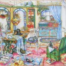 SunsOut MY SEWING ROOM 1000 pc Jigsaw Puzzle Kim Jacobs