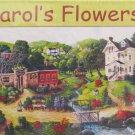 SunsOut CAROL'S FLOWERS 1000 pc Panorama Jigsaw Puzzle Americana Nostalgia