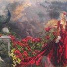 SunsOut Nene Thomas CONCUBINE 1000 pc Jigsaw Puzzle Gothic Art Roses