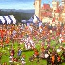 Piatnik Francois Ruyer Tournament Of Knights 1000 pc Jigsaw Humor