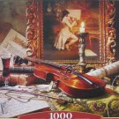 Castorland Still Life With Violin And Painting 1000 pc Jigsaw Puzzle