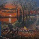 Cobble Hill Fireside 500 pc Jigsaw Puzzle Jim Hansel