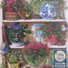 Cobble Hill Flower Cupboard 500 pc Jigsaw Puzzle Janet Kruskamp