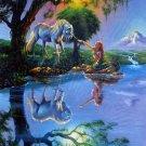 SunsOut Jim Warren If Only You Believe 1000 pc Jigsaw Puzzle Fantasy Unicorn