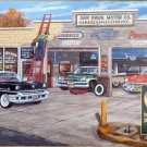 Cobble Hill Ken Zylla Under New Ownership 1000 pc Jigsaw Puzzle Garage Gas Station