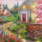 SunsOut Serenity Lane 1000 pc Jigsaw Puzzle XL Pieces Dona Gelsinger