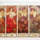 D Toys Alphonse Mucha The Precious Stones 1000 pc Jigsaw Puzzle Art Nouveau