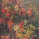 Step Puzzle Flowers And Fruit 1000 pc Jigsaw Puzzle Rococo Period Still Life