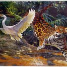 Step Puzzle Hunting 1500 pc Jigsaw Puzzle Jaguar