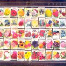D Toys Flowers 1000 pc Jigsaw Puzzle Vintage Posters Seed Packets