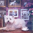 Cobble Hill Westies Are My Type 1000 pc Jigsaw Puzzle Dogs Puppies Jo Ann Richards