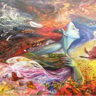 Anatolian Josephine Wall Spirit of Flight 2000 pc Jigsaw Puzzle Fantasy Art