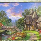 Step Puzzle Dominic Davison Old Waterway Cottage 1000 pc Jigsaw Puzzle