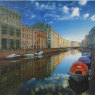 Step Puzzle Saint Petersburg Moyka River 1000 pc Jigsaw Puzzle City Travel