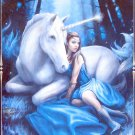 Clemontoni Anne Stokes Blue Moon 1000 pc Jigsaw Puzzle Fantasy