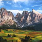 Clemontoni The Coronation of the Alps 1000 pc Jigsaw Puzzle Mountains Alpine Valley Landscape