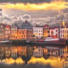 Clemontoni Dutch Dreamland 1000 pc Jigsaw Puzzle Waterfront