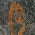 Clemontoni Tiger 1000 pc Foil Jigsaw Puzzle Platinum Collection
