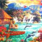 Anatolian Chuck Pinson Island Life  2000 pc Jigsaw Puzzle Tropical Landscape