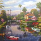 Anatolian Private Docks 1 2000 pc Jigsaw Puzzle Sung Kim Art Landscape