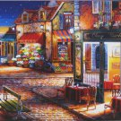 Anatolian John O'Brien Starry Night 1000 pc Jigsaw Puzzle French Cafe