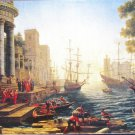 Anatolian Seaport With The Embarkation of St Ursula 3000 pc Jigsaw Puzzle Claude Lorrain