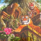 Anatolian Temple Tigers 1000 pc Jigsaw Puzzle Asia Jungle