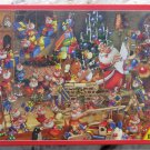 Piatnik Christmas Chaos 1000 pc Jigsaw Puzzle Francois Ruyer Santa Claus