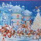 Piatnik Toy Factory 1000 pc Jigsaw Puzzle Francois Ruyer Christmas Cartoon Humor Santa Claus