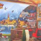 Clemontoni Hallstatt 1000 pc Jigsaw Puzzle Mountain Lake Town Landscape