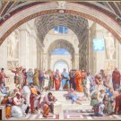 Clemontoni Rafael School Of Athens 1000 pc Jigsaw Puzzle High Renaissance