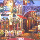 Castorland Evening In Provence 1000 pc Jigsaw Puzzle Street Cafes