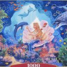 Castorland Pearl Princess 1000 pc Jigsaw Puzzle Mermaid Dolphins