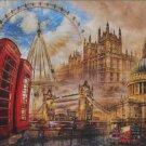 Clemontoni Vintage London 1500 piece Jigsaw Puzzle Collage
