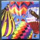 B Dazzle Hot Air Balloons Scramble Squares Brain Twister Puzzle