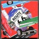 B Dazzle Classic Cars Scramble Squares Brain Twister Puzzle Route 66