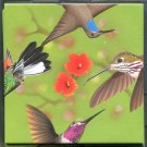 B Dazzle Hummingbirds Scramble Squares Brain Twister Puzzle