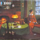 Charles Wysocki Her Captain's Wistful Letter Used 1000 pc Jigsaw Puzzle